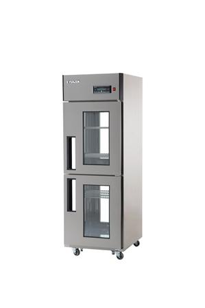 25박스 양문형 냉장고 간접 냉각 방식 에버젠 냉장 510L 1GLASS DOOR