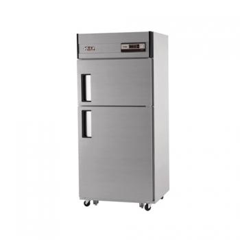 30박스 아날로그 직접 냉각 냉동 218L 냉장 456L 2도어 메탈릭강판