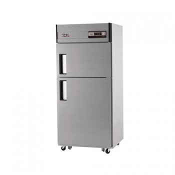 30박스 아날로그 직접 냉각 냉동 218L 냉장 456L 2도어 내부 스텐