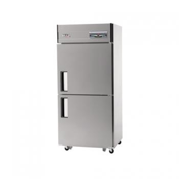 30박스 디지털 직접 냉각 냉동 693L 2도어 내부 스텐