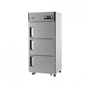30박스 아날로그 직접 냉각 냉동 218L 냉장 456L 3도어 올 스텐
