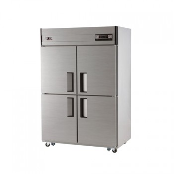 45박스 아날로그 직접 냉각 냉동 1137L 내부 스텐 냉동고