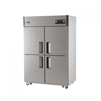 45박스 아날로그 직접 냉각 냉동 1137L 올 스텐 냉동고