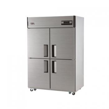 45박스 아날로그 직접 냉각 수평형 냉동 540L 냉장 540L 메탈릭강판