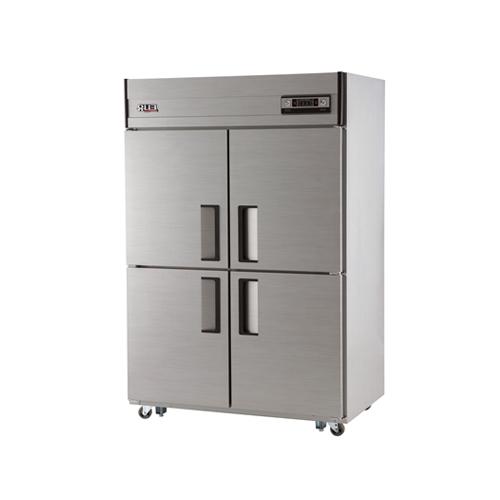 45박스 아날로그 직접 냉각 수평형 냉동 540L 냉장 540L 내부 스텐