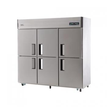 65박스 디지털 직접 냉각 냉동 1802L 내부 스텐