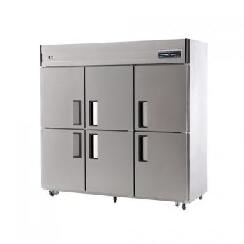 65박스 디지털 직접 냉각 냉동 556L 냉장 1160L 내부 스텐