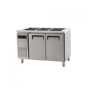 받드 냉장고 1200 에버젠 스텐 냉장 315L