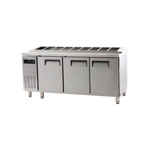 받드 냉장고 1800 에버젠 스텐 냉장 519L