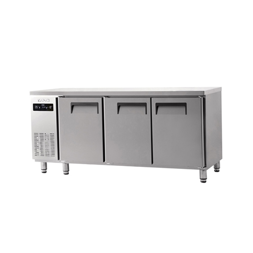 냉동 냉장 테이블 1800 에버젠 스텐 냉동 150L 냉장 300L
