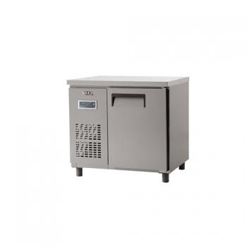 냉장 테이블 900 디지털 직냉식 냉장 188L 내부 스텐
