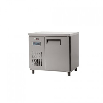 냉장 테이블 900 디지털 직냉식 냉장 188L 올 스텐