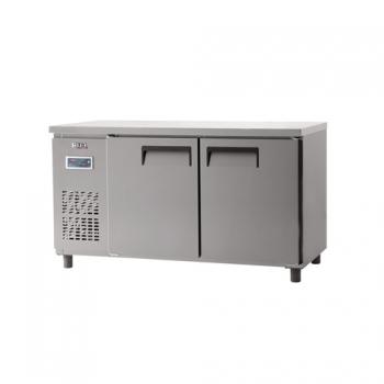 냉동 냉장 테이블 1500 디지털 냉동 193L 냉장 193L 내부 스텐