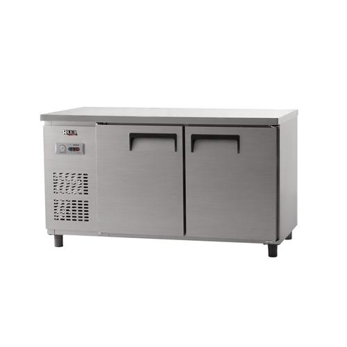 냉동 테이블 1500 아날로그 직냉식 냉동 387L 내부 스텐