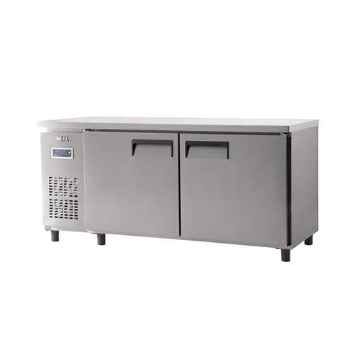 냉동 테이블 1800 디지털 직냉식 냉동 498L 내부 스텐