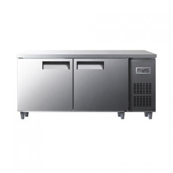 냉동 냉장 테이블 1800 디지털 냉동 249L 냉장 249L 올 스텐