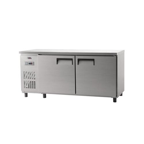 냉동 테이블 1800 아날로그 직냉식 냉동 498L 내부 스텐