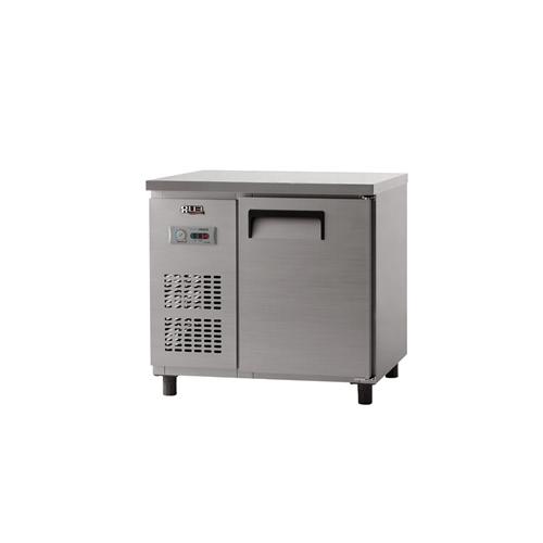 냉동 테이블 900 아날로그 직냉식 냉동 188L 내부 스텐