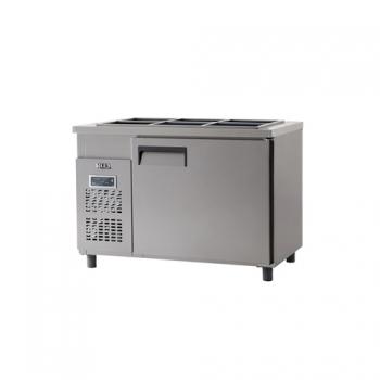 받드 냉장고 1200 x 700 디지털 냉장 317L 내부 스텐