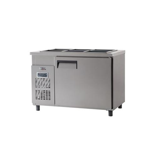 받드 냉장고 1200 x 700 디지털 냉장 317L 올 스텐
