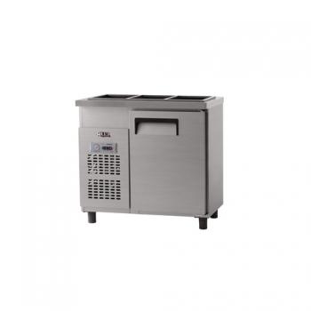 받드 냉장고 900 x 500 아날로그 냉장 129L 올 스텐