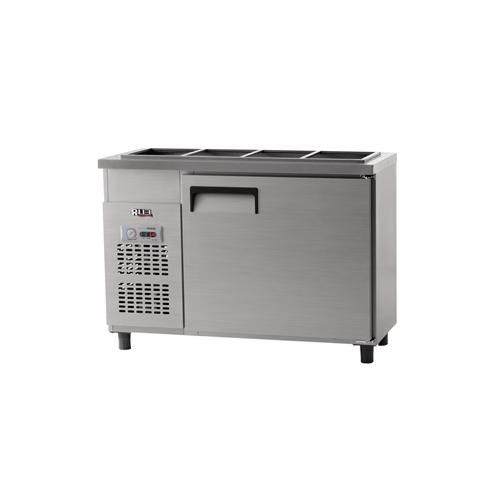 받드 냉장고 1200 x 500 아날로그 냉장 204L 올 스텐