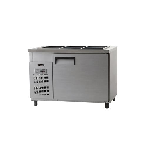 받드 냉장고 1200 X 700 아날로그 냉장 317L 내부 스텐