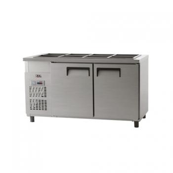 받드 냉장고 1500 아날로그 냉장 434L 내부 스텐
