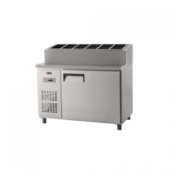 토핑 테이블 냉장고 1200 아날로그 냉장 365L 올 스텐