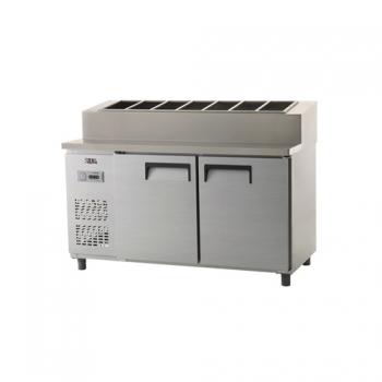 토핑 테이블 냉장고 1500 아날로그 냉장 495L 올 스텐