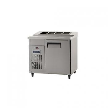 김밥 테이블 냉장고 900 디지털 냉장 158L 내부 스텐