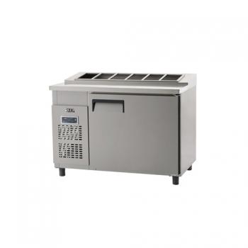 김밥 테이블 냉장고 1200 디지털 냉장 364L 내부 스텐