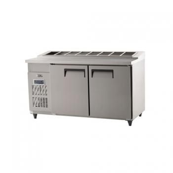 김밥 테이블 냉장고 1500 디지털 냉장 494L 내부 스텐
