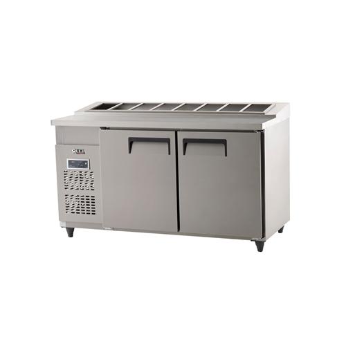 김밥 테이블 냉장고 1500 디지털 냉장 494L 올 스텐