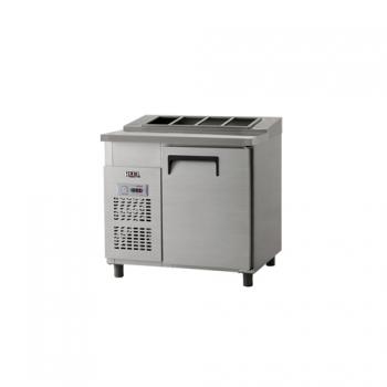 김밥 테이블 냉장고 900 아날로그 냉장 158L 내부 스텐