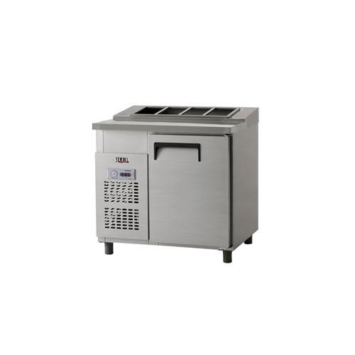 김밥 테이블 냉장고 900 아날로그 냉장 158L 올 스텐