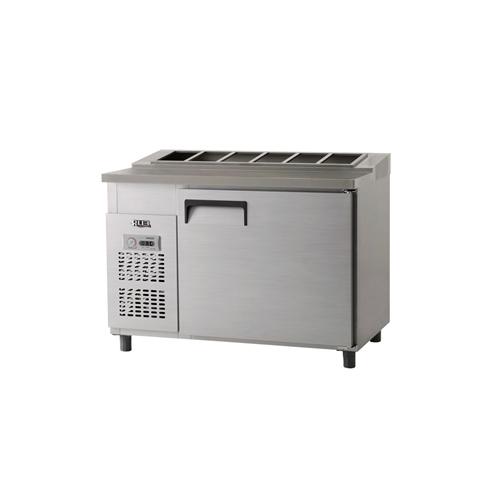 김밥 테이블 냉장고 1200 아날로그 냉장 364L 내부 스텐
