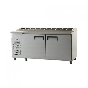 김밥 테이블 냉장고 1800 아날로그 냉장 626L 내부 스텐