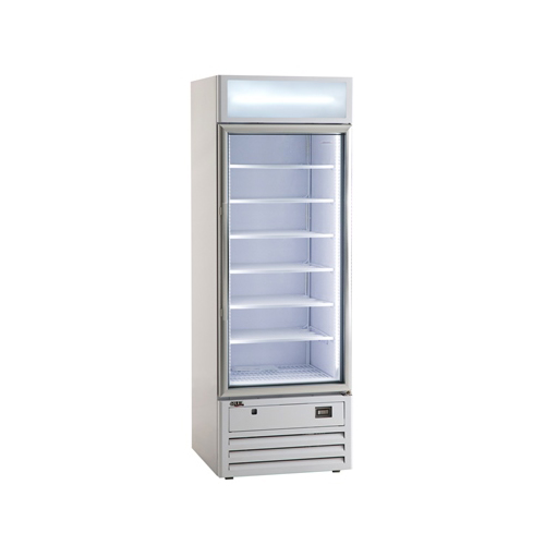 수직 냉동 쇼케이스 직냉방식 400L