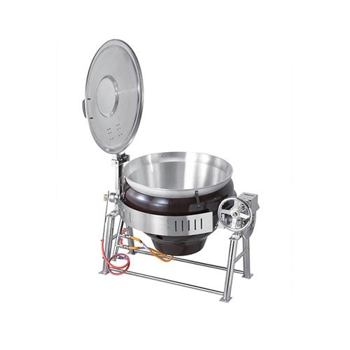 가스 회전식 국솥 150인분 55L 내피 알루미늄