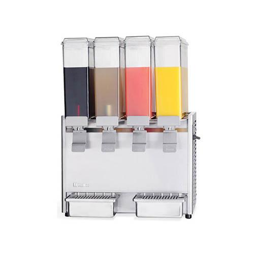 냉 음료 디스펜서 주스 냉각기 8L X 4