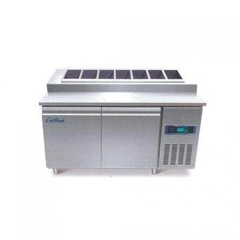 콜드 토핑 테이블 냉장고 1500 간냉식