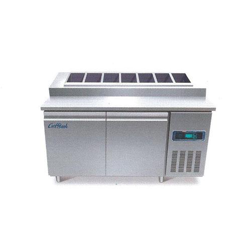 콜드 토핑 테이블 냉장고 2100 간냉식