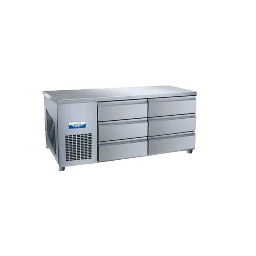 콜드 높은 서랍식 테이블 냉장고 1500 직냉식