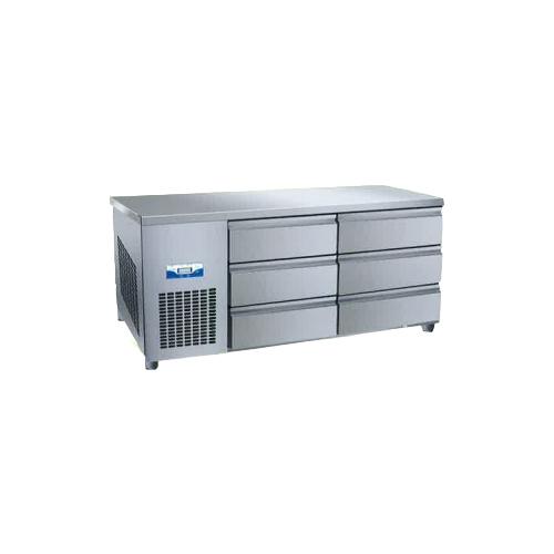 콜드 높은 서랍식 테이블 냉장고 1500 간냉식