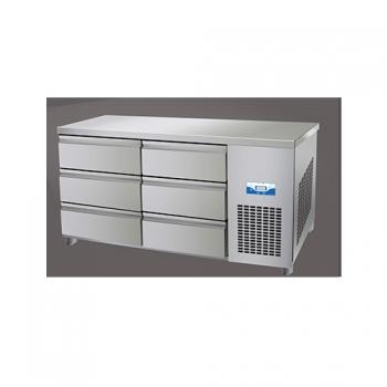 콜드 높은 서랍식 테이블 냉장고 2100 간냉식