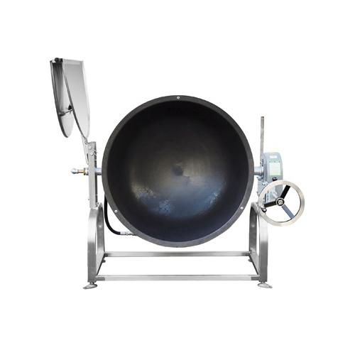 가스 회전식 볶음솥 500인분 250L 내피 외피 철주물