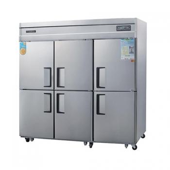 고급형 65박스 디지털 직접 냉각 냉동 1683L 올 스텐