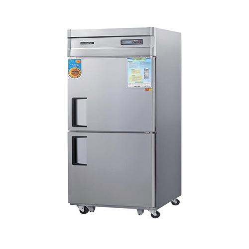 고급형 30박스 디지털 간접 냉각 냉동 562L 올 스텐