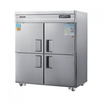 고급형 45박스 디지털 간접 냉각 수직형 냉동 516L 냉장 516L 올 스텐